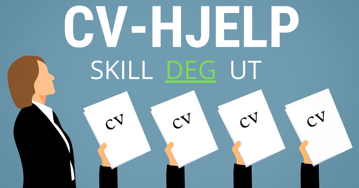 Bruk CV hjelp for å skille deg ut i mengden av søknader.