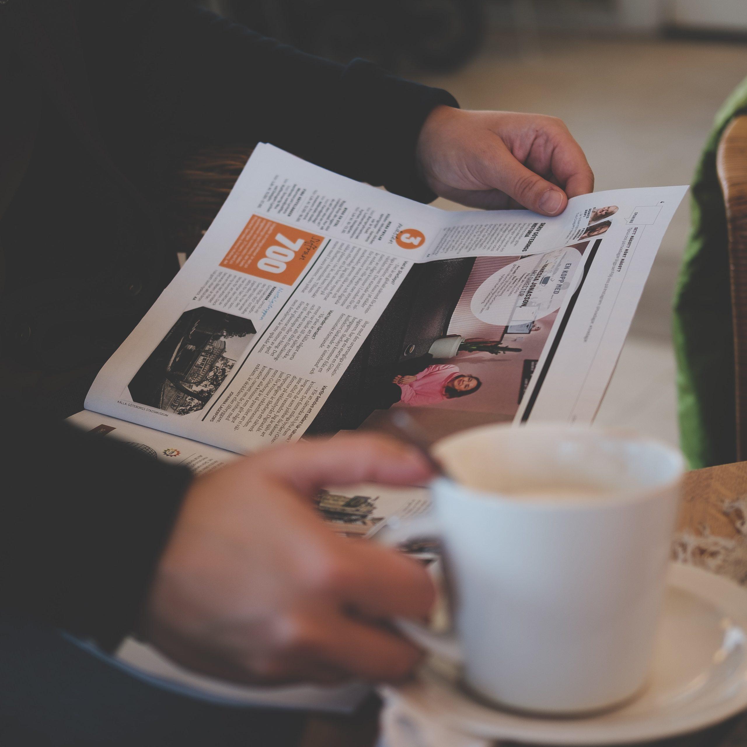 En pressemelding vil nå leseren din gjennom avisene.