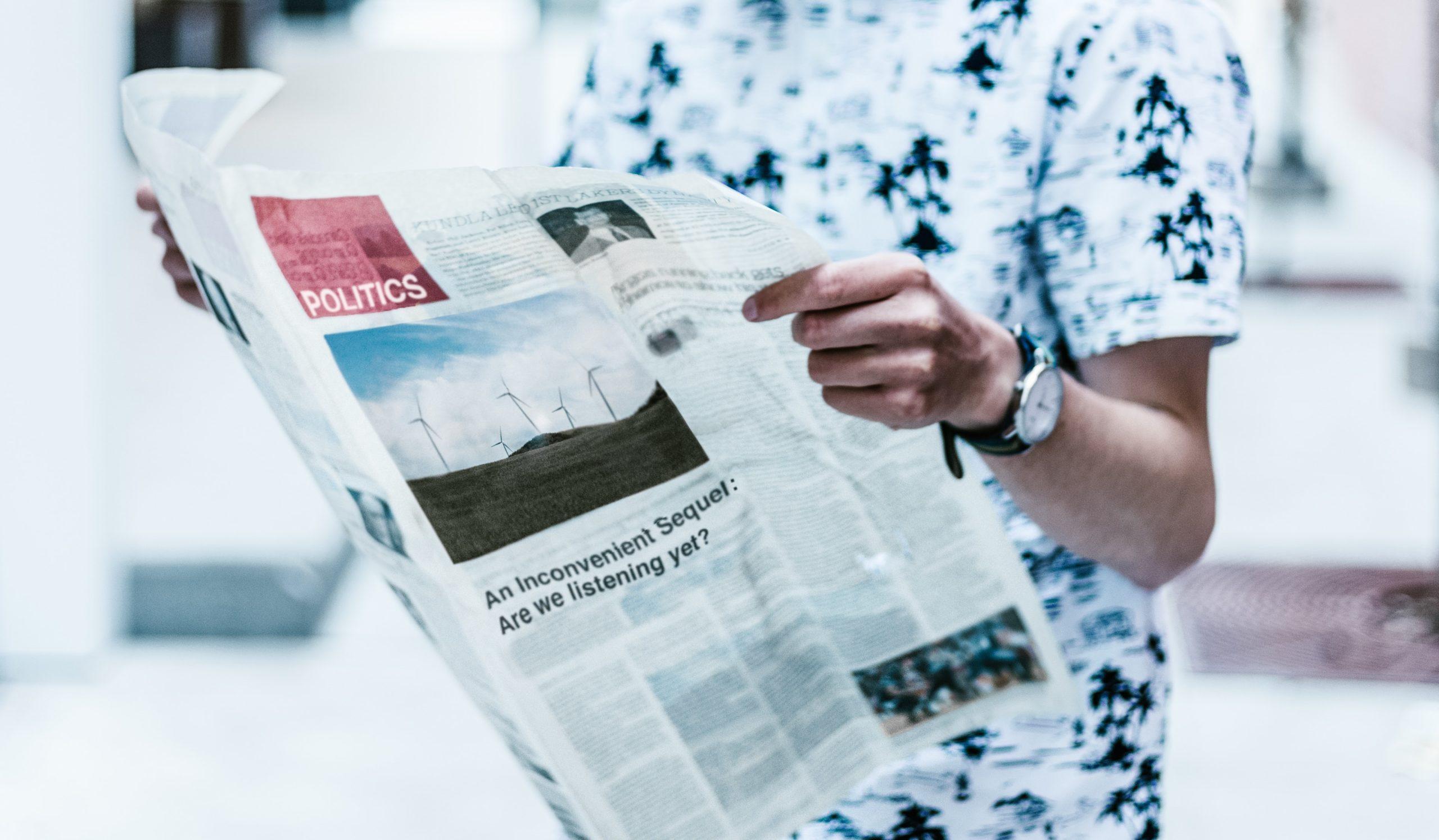 Mange nordmenn leser fortsatt aviser, og dine nyheter kan havne rett foran dem.