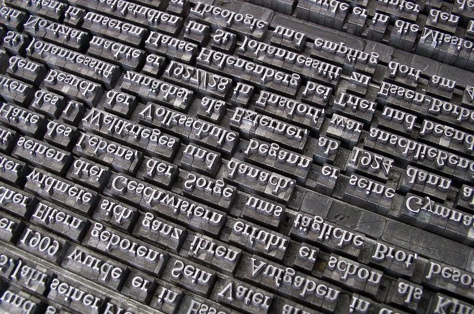 Ord hulter til bulter er ikke uvanlig å støte på i tekster.