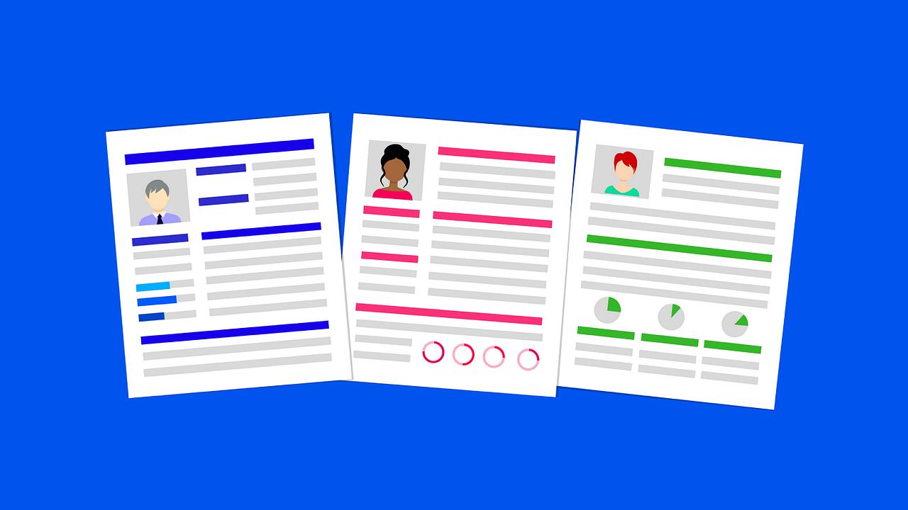 En kreativ CV skiller seg ut blant mengden.
