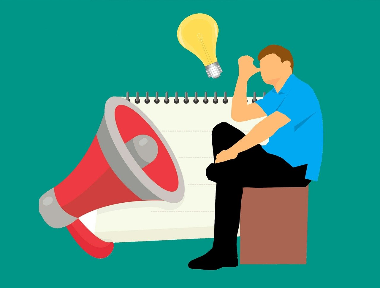 Innholdsmarkedsføring handler om få ideen fra hodet ditt til megafonen!