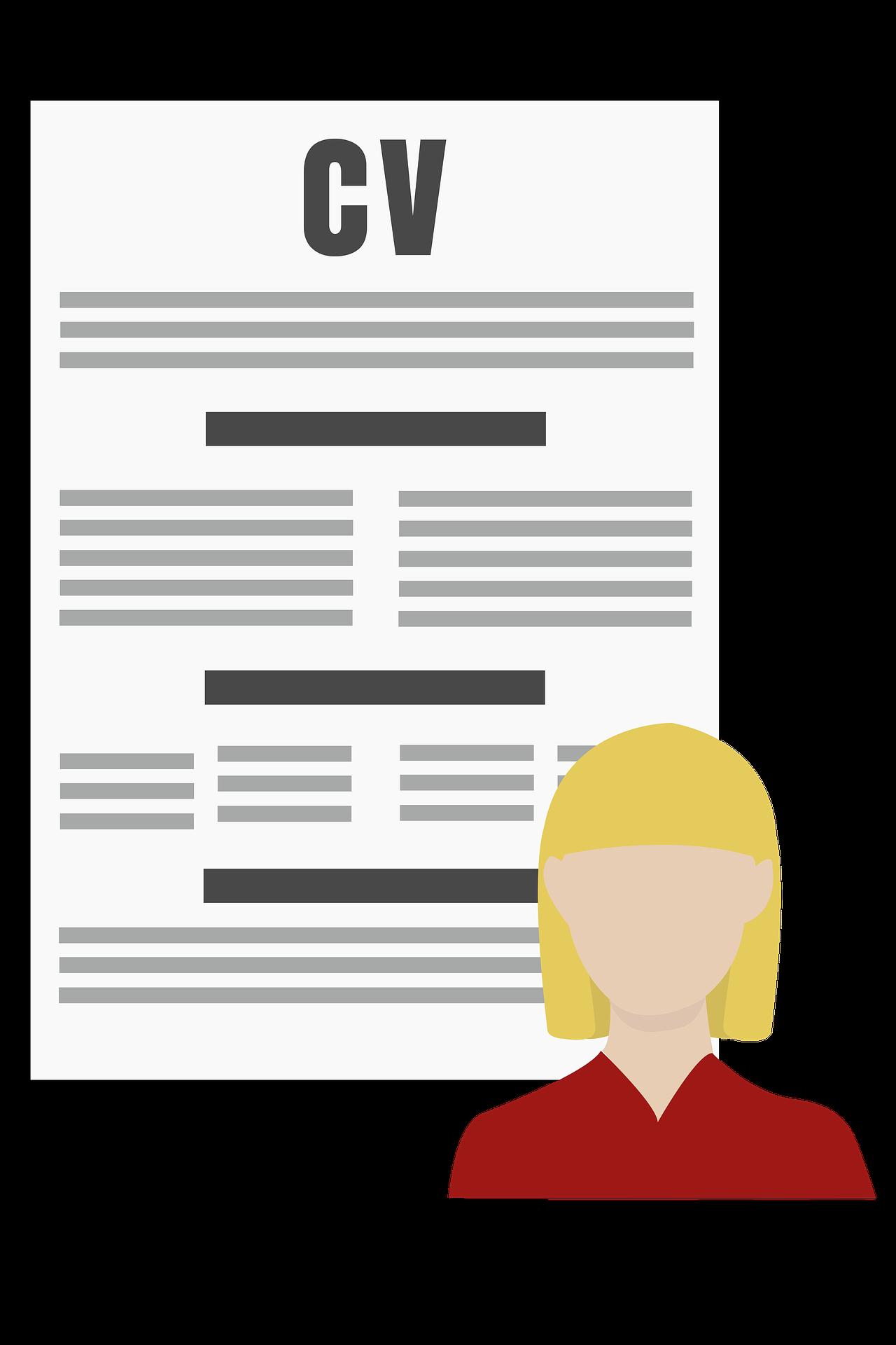 Hva står egentlig CV for på toppen av dette dokumentet?
