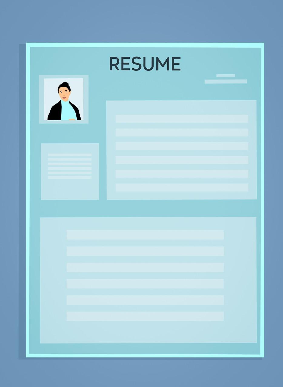 En kreativ CV, gjerne med bilde, fanger mer oppmerksomhet.