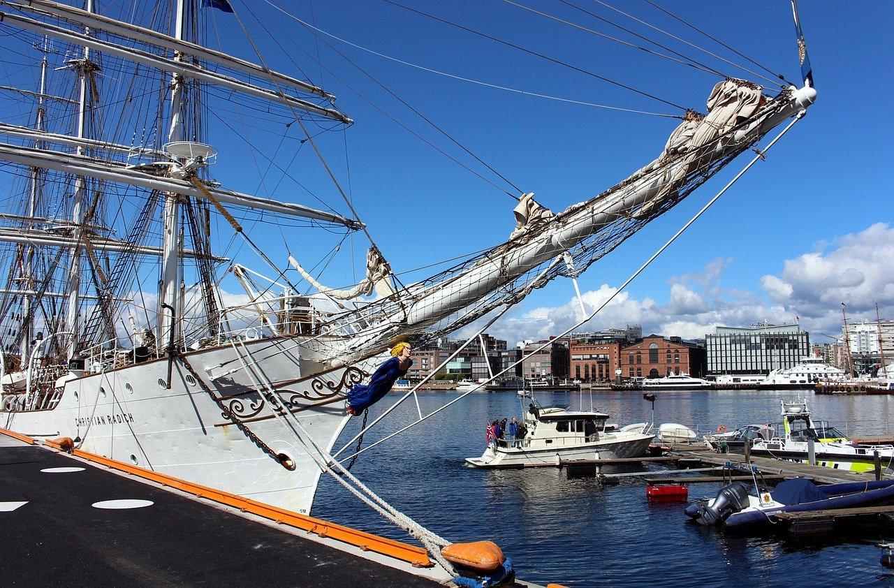 En tekstforfatter i Oslo får nyte en av Norges fineste havner.