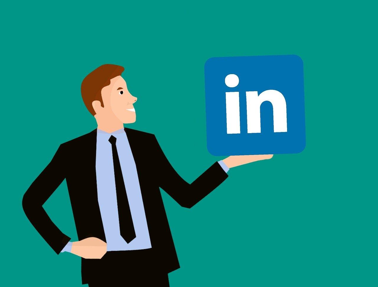 LinkedIn er en populær kanal for B2B markedsføring.