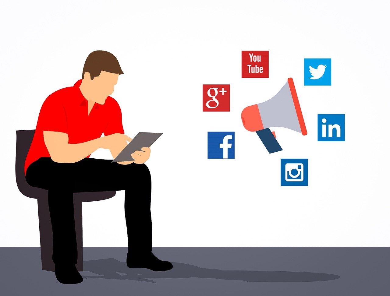 Markedsføring sosiale medier